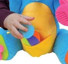 Мягкая развивающая игрушка Дракончик Boss фотография 7
