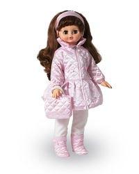 Фото Кукла говорящая Алиса 13 в зимней одежде умеет ходить, 55 см (В2916/о)