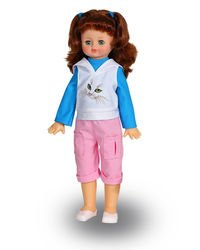 Фото Кукла говорящая Алиса 18 умеет ходить 55 см (В232/о)
