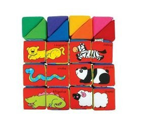 Кубики мягкие Учись, играя фотография 4