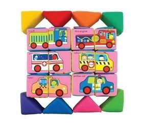 Кубики мягкие Учись, играя фотография 5