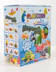 Конструктор из кукурузы Playcorn Морской мир (200 дет.) фотография 2