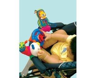 Развивающая игрушка Веселое трио. Гусеница, руль и мобильный телефон фотография 3