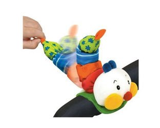 Развивающая игрушка Веселое трио. Гусеница, руль и мобильный телефон фотография 6