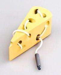 Фото Шнуровка деревянная Сыр (76601)