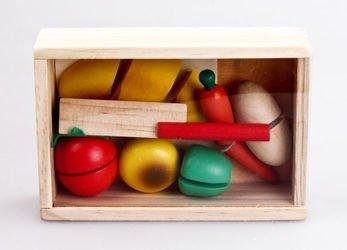 Фото Набор игрушечных продуктов для резки Маленький кулинар (76600)