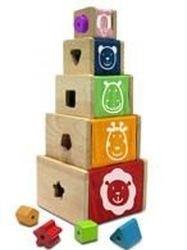 Набор развивающих ящиков-кубов (12064) фотография 2