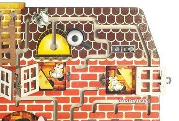 Бизиборд Кошки-мышки фотография 4