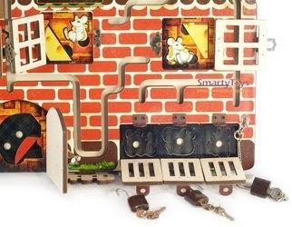 Бизиборд Кошки-мышки фотография 5