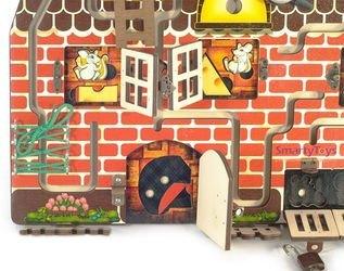 Бизиборд Кошки-мышки фотография 6