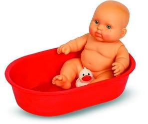 Фото Пупс Карапуз Мальчик 20 см в ванночке (В978)
