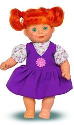 """Фото Кукла """"Полинка 4"""" мягконабивная 32 см (В2220)"""