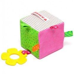 Фото Мягкий кубик Мякиши ЭКО Кубик с прорезывателем (363)