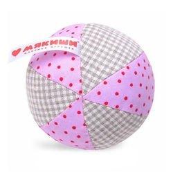 Фото Мягкий мячик Мякиши ЭКО мяч с погремушкой (362)