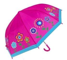 Фото Зонтик детский для девочки Цветы 41 см (53576)