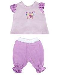 Фото Одежда для куклы 38-43 см Кофточка и брючки Бабочка (202)