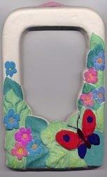 Набор для творчества Барельеф Рамка с бабочкой фотография 2