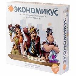 Фото Настольная игра Экономикус 2 -е издание
