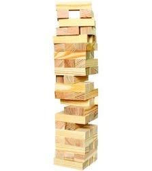 Игра Башня Дженга (неокрашенное дерево) фотография 1