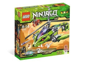 9443 Змеиный вертолёт (конструктор Lego Ninjago) фотография 2
