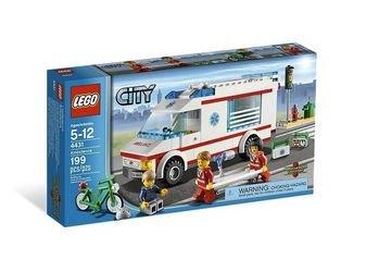 4431  Машина скорой помощи (конструктор Lego City) фотография 2