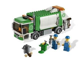 Фото 4432 Мусоровоз (конструктор Lego City)