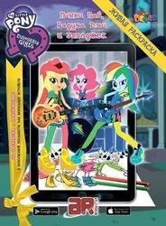 Фото Живая раскраска My Little Pony Девочки из Эквестрии: Пинки пай, Радуга Дэш и Эпплджек