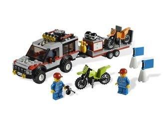 4433 Транспортёр мотоциклов (конструктор Lego City) фотография 1