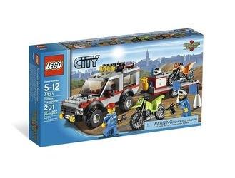 4433 Транспортёр мотоциклов (конструктор Lego City) фотография 2