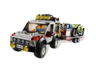 4433 Транспортёр мотоциклов (конструктор Lego City) фотография 3