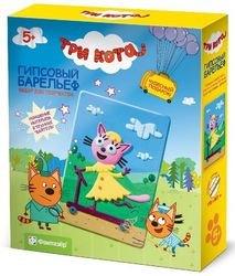 Фото Набор для творчества Гипсовый барельеф Три кота Лапочка (405113)