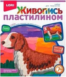 Фото Набор для творчества Живопись пластилином Охотничья собака (Пк-040)