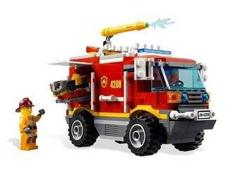 4208 Пожарный внедорожник (конструктор Lego City) фотография 3
