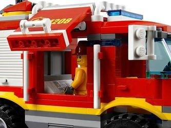 4208 Пожарный внедорожник (конструктор Lego City) фотография 4