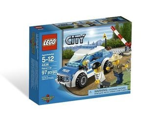 4436 Патрульная машина (конструктор Lego City) фотография 2