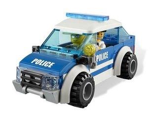 4436 Патрульная машина (конструктор Lego City) фотография 4