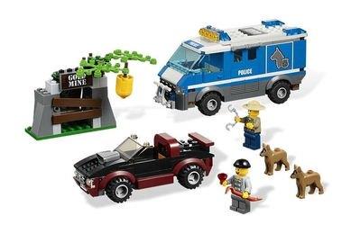 4441 Фургон для полицейских собак (конструктор Lego City) фотография 1