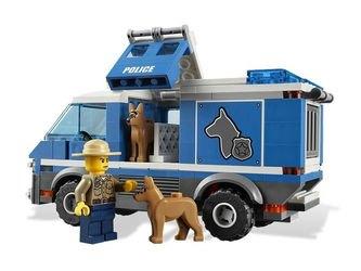 4441 Фургон для полицейских собак (конструктор Lego City) фотография 4