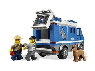 4441 Фургон для полицейских собак (конструктор Lego City) фотография 5