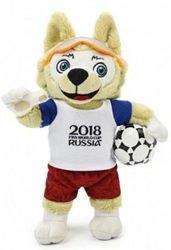 Фото Мягкая игрушка Волк ЗабивакаFIFA-201818 см (Т10819)