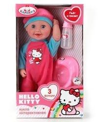 Фото Пупс интерактивный Hello Kittyпьет и писает30 см (202898)