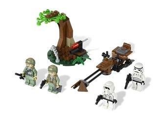 9489 Боевой комплект Повстанцы на Эндоре и штурмовики Империи (конструктор Lego Star Wars) фотография 1