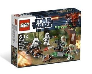 9489 Боевой комплект Повстанцы на Эндоре и штурмовики Империи (конструктор Lego Star Wars) фотография 2