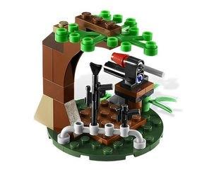 9489 Боевой комплект Повстанцы на Эндоре и штурмовики Империи (конструктор Lego Star Wars) фотография 4