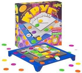 Фото Настольная семейная игра Круг в квадрате (Ф77177)