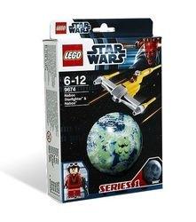 9674 Истребитель Набу и планета Набу (конструктор Lego Star Wars) фотография 2