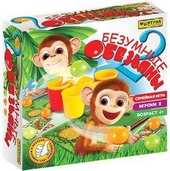 Фото Настольная семейная игра 2 безумные обезьяны (Ф86180)