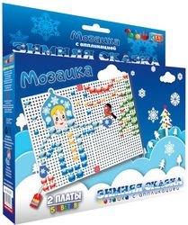 Фото Детская мозаика с аппликациями Зимняя сказка (00-025)