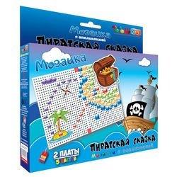 Фото Детская мозаика с аппликациями Пиратская сказка (00-027)