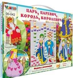Фото Детская мозаика с аппликациями Царь, Царевич, Король, Королевич (00-042)